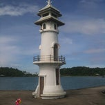 Photo taken at ประภาคารบางเบ้า (Bang Bao Lighthouse) by Роман М. on 10/24/2012