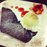 Photo taken at Pancake Café (แพนเค้ก คาเฟ่) by Lamina O. on 6/8/2013