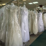 Photo taken at Bridal Mart by Adrienne on 7/27/2013