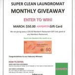 Photo taken at Super Clean Laundromat by Super Clean Laundromat on 3/3/2014