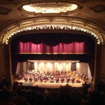 Photo taken at Palace Theatre by Jason S. on 3/10/2013