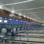 Photo taken at Aeropuerto Internacional José Joaquín de Olmedo (GYE) by Alejandro V. on 11/18/2012
