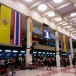 Photo taken at Phuket International Airport (HKT) ท่าอากาศยานภูเก็ต by Rosa R. on 4/6/2013