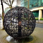 Photo taken at George's Dock Luas by Alexandre N. on 3/23/2013