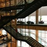 Photo taken at Bibliothèque et Archives nationales du Québec (Grande Bibliothèque) by Pascal P. on 4/13/2013