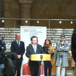 Photo taken at Presidencia - Junta de Extremadura by Imelda on 3/6/2013