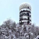 Photo taken at Abhörstation Teufelsberg by Matthias R. on 2/10/2013