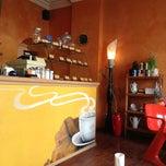 Photo taken at Aromas Café by Chris &Sylwia on 4/21/2013