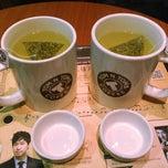 Photo taken at TOM N TOMS COFFEE by HYUNDAN K. on 12/7/2014