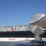 "Photo taken at Aeroporto di Milano Linate ""Enrico Forlanini"" (LIN) by Alessandro T. on 5/27/2013"