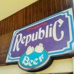 Photo taken at Republic Restaurante by Fabio R. on 12/29/2012