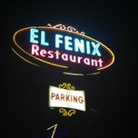 Photo taken at El Fenix Restaurant by Hayley on 11/10/2012