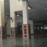 Photo taken at Masjid Al-Istiqna by Al G. on 5/19/2013