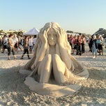 Photo taken at Treasure Island Sand Castle Competition by Marty on 11/17/2012