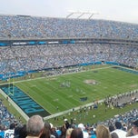 Photo taken at Bank of America Stadium by Sarah E. on 9/16/2012