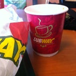Photo taken at Subway by Sangeetha N. on 9/22/2012