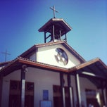 Photo taken at Santuario Santa Teresita de los Andes by Cristobal P. on 4/27/2013