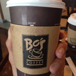 Photo taken at Bo's Coffee by Kimiy K. on 3/14/2015
