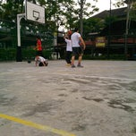 Photo taken at Basketball Court Prima Avenue (PADI) by Zainee O. on 12/25/2013