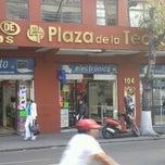 Photo taken at Plaza De La Tecnología by Israel S. on 10/15/2012