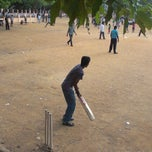 Photo taken at Trustpuram Cricket Ground by Sanjeevan S. on 10/19/2012