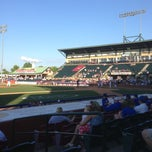 Photo taken at Whitaker Bank Ballpark by Rick B. on 6/3/2013