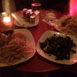 Photo taken at The Living Room at The Standard, New York by Mark S. on 1/2/2014