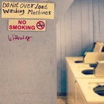 Photo taken at Lancaster Laundrette by Laura N. on 10/30/2012