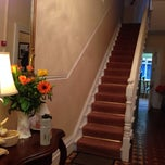 Photo taken at Linden Hall B&B by Eva on 5/2/2014