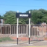 Photo taken at Estación Munro [Ferrocarril Belgrano Norte] by Luciano T. on 2/15/2013