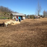 Photo taken at Piedmont Park Dog Park by Gordon W. on 2/24/2013