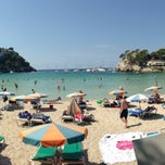 Photo taken at Cala Galdana by Alan L. on 8/18/2013