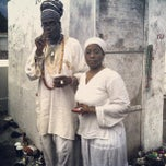 Photo taken at Tomb Of Marie Laveau by Divine Prince T. on 12/21/2012