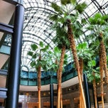Photo taken at Brookfield Place, Winter Garden by Mark N. on 7/25/2013