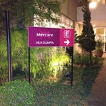 Photo taken at Mercure São Paulo Vila Olímpia by Gustavo on 9/14/2012