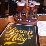 Photo taken at Brewer's Alley by Christopher J. P. on 3/31/2013