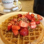 Photo taken at Hot Stacks Pancake House by Pamela B. on 10/27/2012