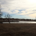 Photo taken at North Lake Park by Kristi C. on 3/10/2014