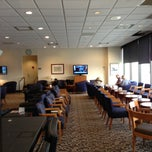 Photo taken at Delta Sky Club by Chris H. on 12/24/2012