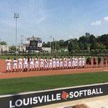 Photo taken at Koetter Center (UofL Softball Stadium) by Jennifer D. on 9/20/2014