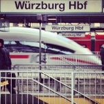 Photo taken at Würzburg Hauptbahnhof by Carsten S. on 11/20/2012