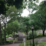 Photo taken at St. Nicholas Park by Marian E. on 7/25/2013