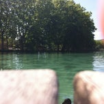 Photo taken at Banys Vells Banyoles by Daniel C. on 8/15/2013