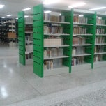 Photo taken at Biblioteca FFP-UERJ by Kawanna S. on 11/5/2013