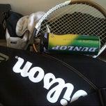 Photo taken at Tennis Court Jkr by Ashraf on 1/26/2013