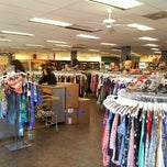 Photo taken at Buffalo Exchange by Alachia Q. on 5/4/2013