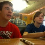 Photo taken at Woody's BBQ by Christina H. on 12/9/2012