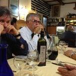Photo taken at Hostaria Lo Sgobbone by Mauro B. on 11/12/2012