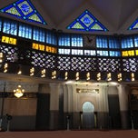 Photo taken at Masjid Negara (National Mosque) by Syahid B. on 12/8/2012