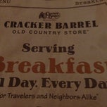 Photo taken at Cracker Barrel Old Country Store by Brad E. on 11/2/2012